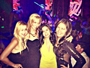 Rimma, Motrya, Angelique and Claudia at Bamboo