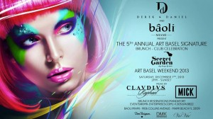 Derek & Daniel's 5 Year Anniversary Art Basel Brunch-Club Celebration