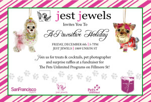 Jest Jewel's A Pawsitive Holiday Evening