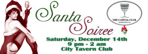 The Capital Club's 22nd Annual Santa Soirée