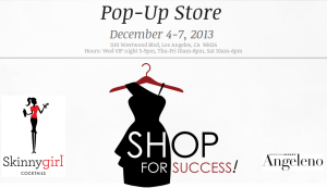 VIP Charity Shopping Party to benefit Dress for Success