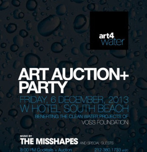 Art4Water Water Basel Featuring The Misshapes