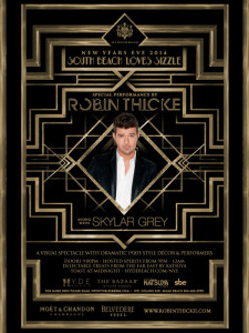 SLS NYE with Robin Thicke & Skylar Grey