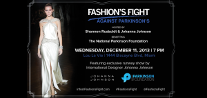 2013 Fashion's Fight Against Parkinson's
