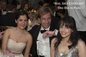 Tahera attends Bal Des Etoiles