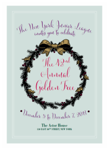 New York Junior League 42nd Annual Golden Tree