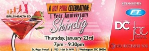 A Hot Pink Celebration: Girls Health Ed.'s One Year Anniversary Shindig