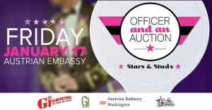An Officer And An Auction: Stars & Studs at the Embassy of Austria