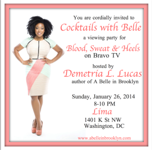 Meet Bravo TV's Demetria Lucas 'Cocktails with Belle'
