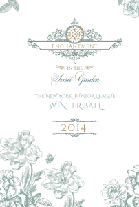 New York Junior League's 62nd Annual Winter Ball