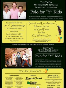 "The Tenth Annual Polo for ""Y"" Kids"