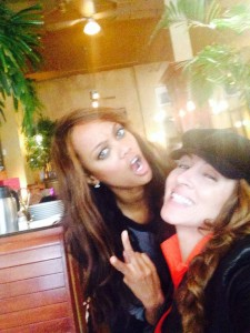 BFFs Tyra Banks and Mica Hughes