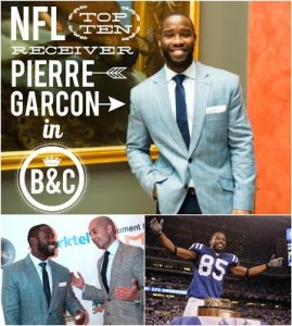 Pierre Garcon of the Washington Redskin's in Brimble and Clark
