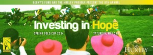 "Becky's Fund and The Huxley Present the 8th Annual ""Investing in Hope"""