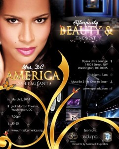 Mrs. DC America Pageant 2014