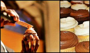 Cupcake making lessons at Butter Lane Bakery