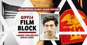 GI Film Festival 2014 Heroes Then & Now With Actor Adam Driver