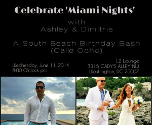 Celebrate 'Miami Nights' with Ashley & Dimitris
