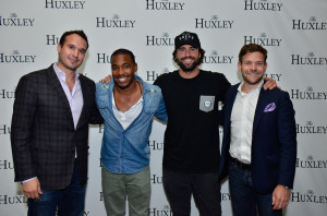 LA DJ William Lifestyle and Brody Jenner with Huxley owners Ryan Seelbach and Eric Lund