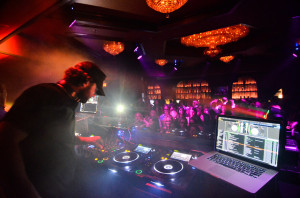 DJ Brody Jenner on the decks
