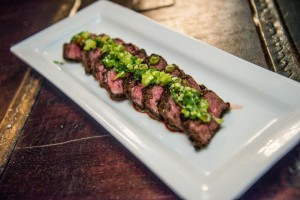 The Hanger steak is a must!