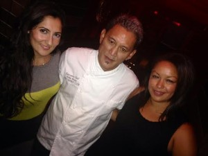 Tahera and Eve with Chef Alika Keone