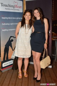 Touch Heart's Co-founder Helen Yi with Jana Sedlakova