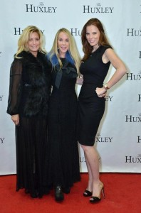 The Huxley DC Ribbon Cutting (L to R) Victoria Michael, Cindy Jones and Amanda Polk