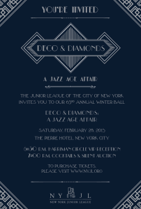 Deco & Diamonds - A Jazz Age Affair: