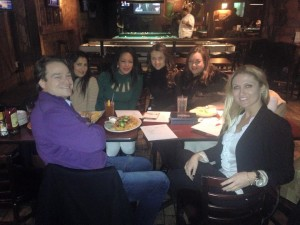 Chance for Life 2015 planning the 10 Year Anniversary  with Brad Nierenberg, Tahera S Zamanzada, Eve Monica, Jana Sedlakova, Camelia Mazard and Sheena Cole