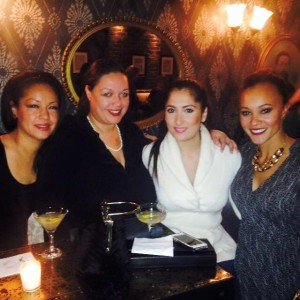 Eve, Camelia, Tahera, and Ashley of Sip With Socialites