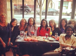 Victoria Michael, Jeanhee Kim, Erika Gutierrez, Paul Wharton, Omarosa Manigault, Gina Dakkouni, Eve Edmonds, Ashley Boalch Darby and Jummy Olabanji