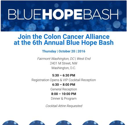 The 6th Annual Blue Hope Bash